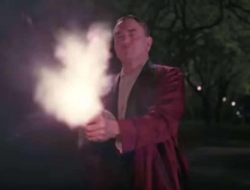 Miller's Crossing Tommy Gun Scene