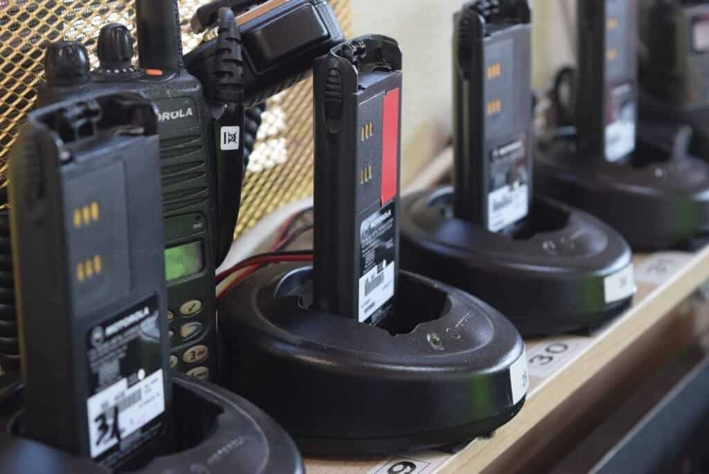 Walkie Talkie For Security Communication