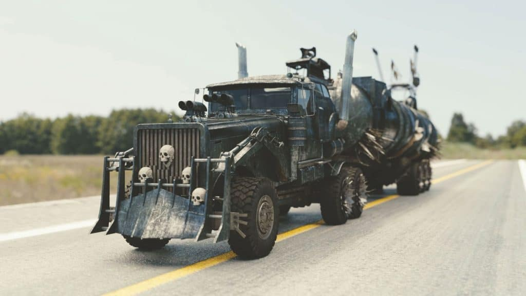 Mad Max Survival Rig
