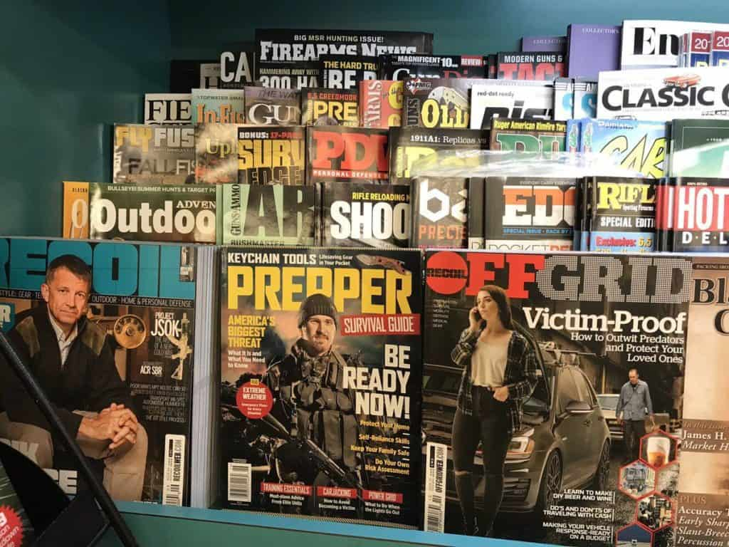 Prepper Magazine Selection