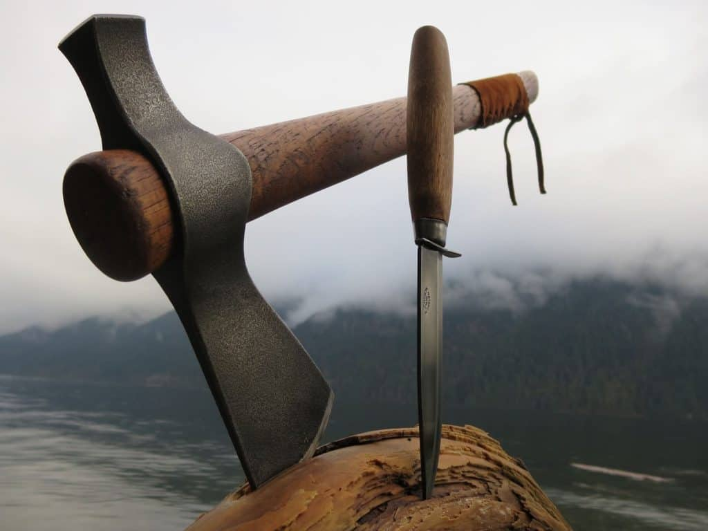 Tomahawk And Knife