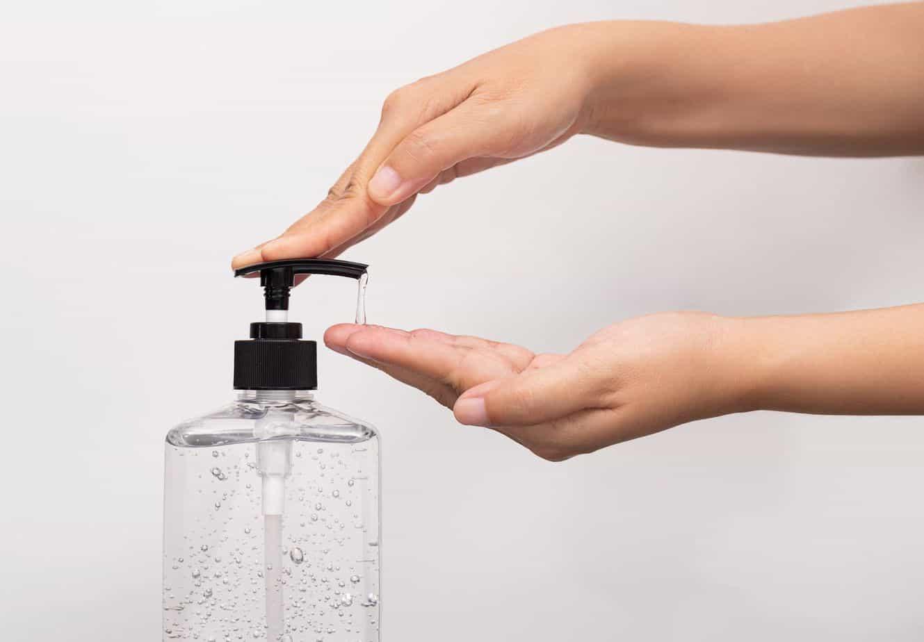 Hand Sanitizer Use