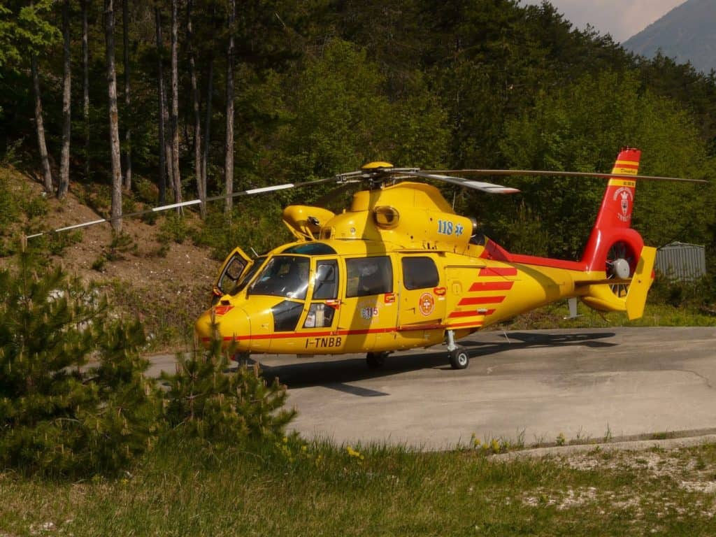 Medical Evacuation By Helicopter