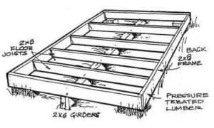 Survival Shack Floor Plan 2