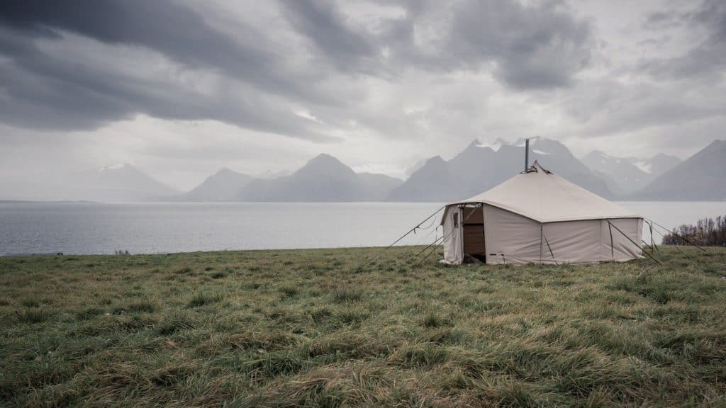 Canvas Tent For More Room