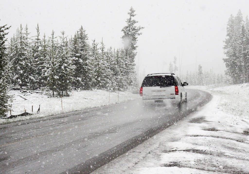 Winter Driving Slip The Slide