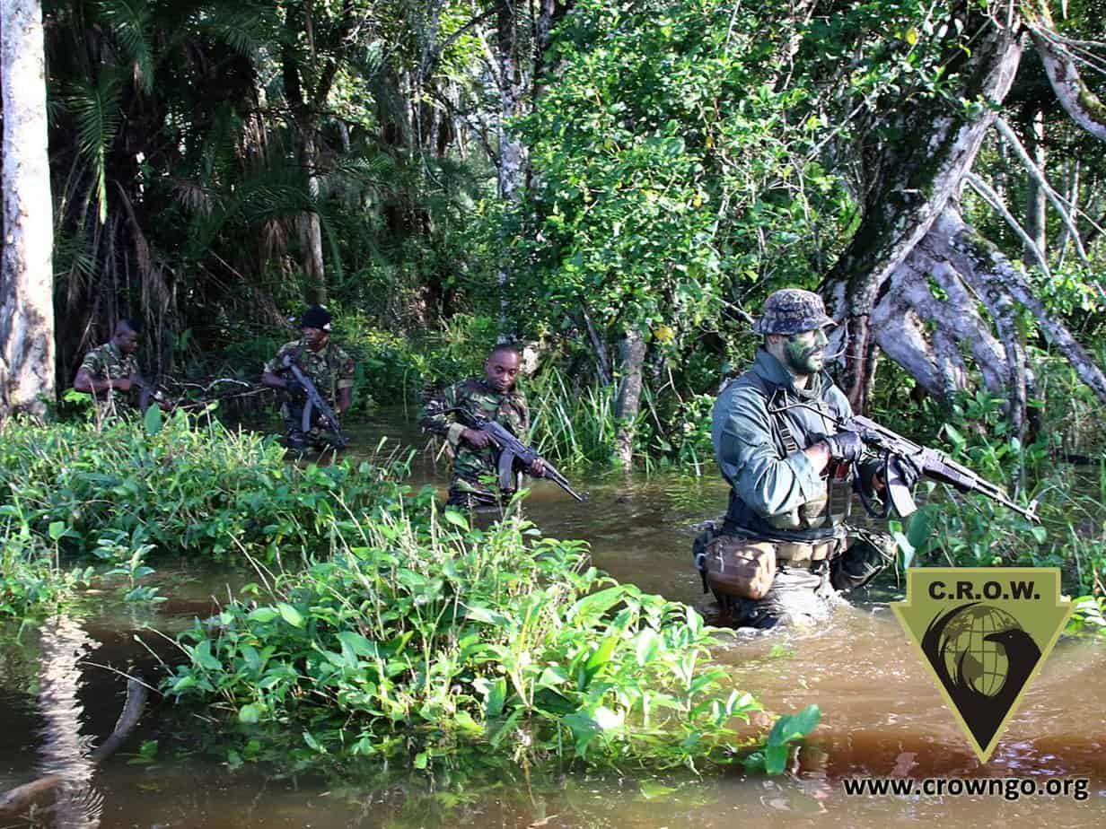 antipoaching rangers being prepared against poachers