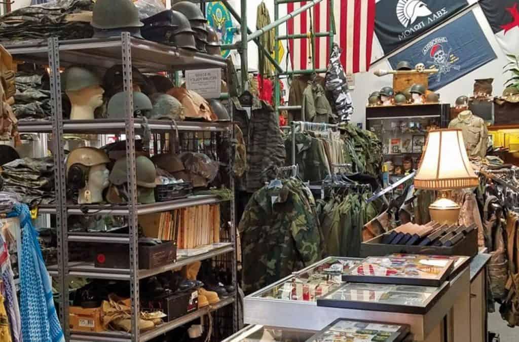 military surplus store