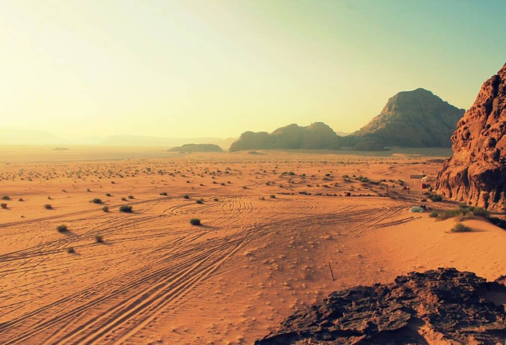 stranded in the desert