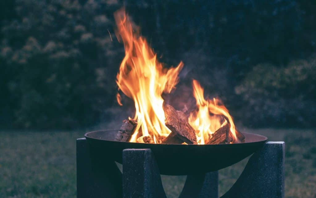build and install a fire pit