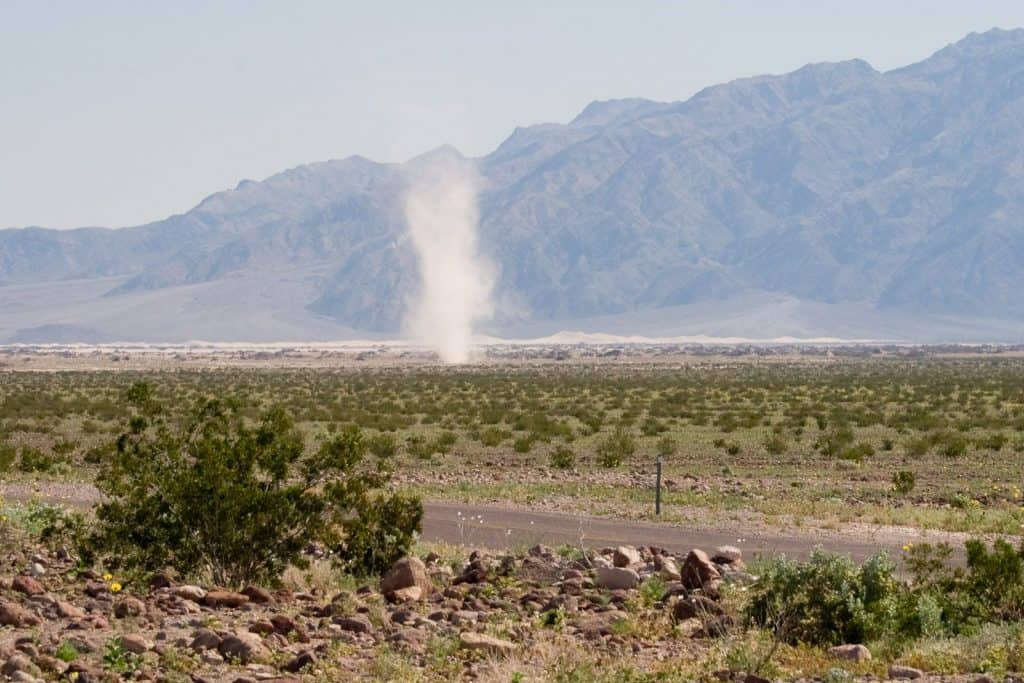 dealing with dust devils