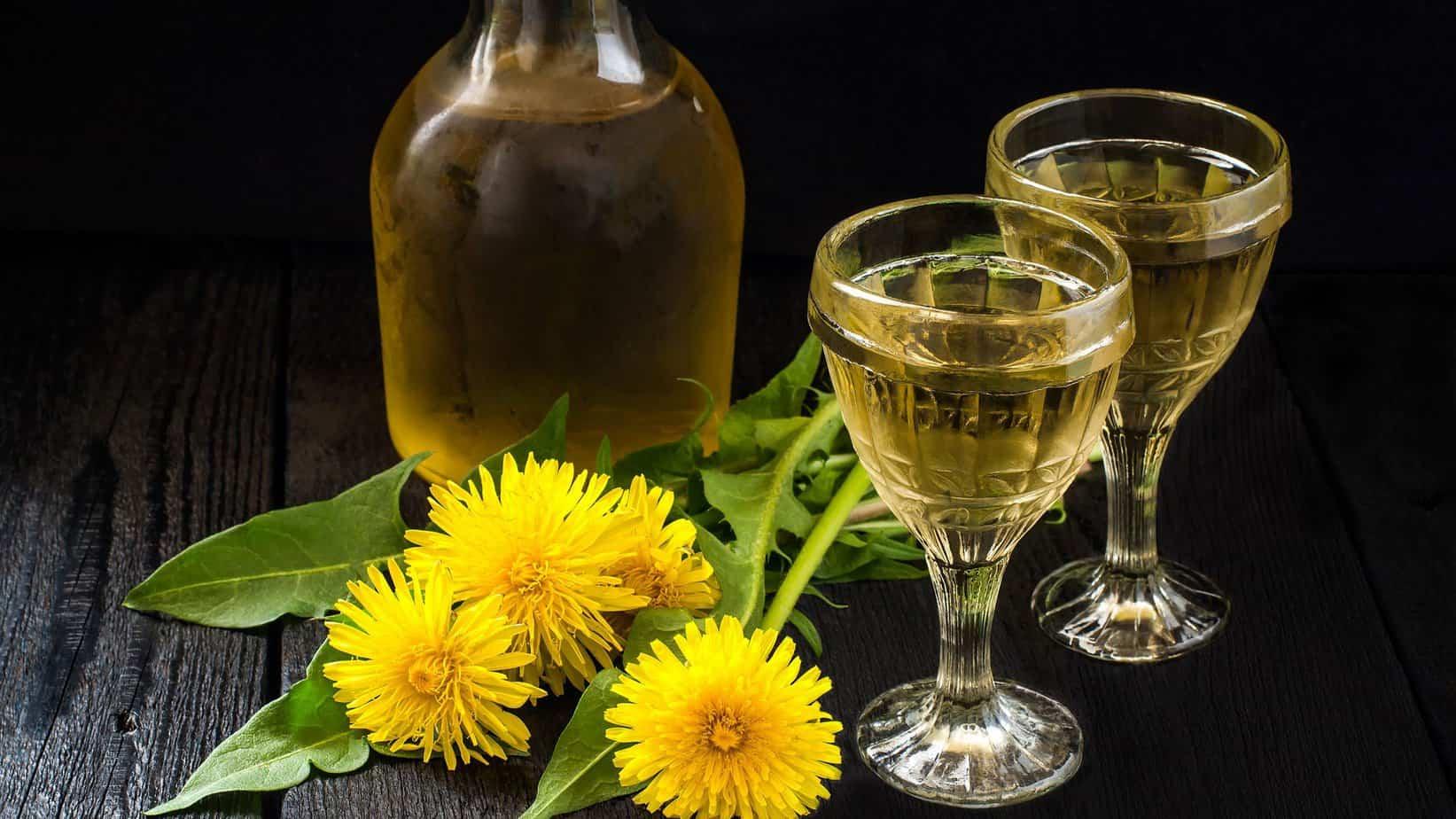 how to make dandelion and burdock wine