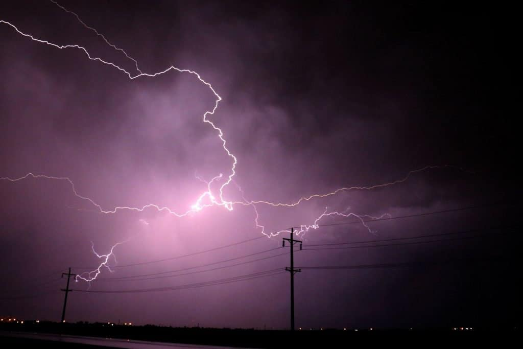 summer hazards power outages