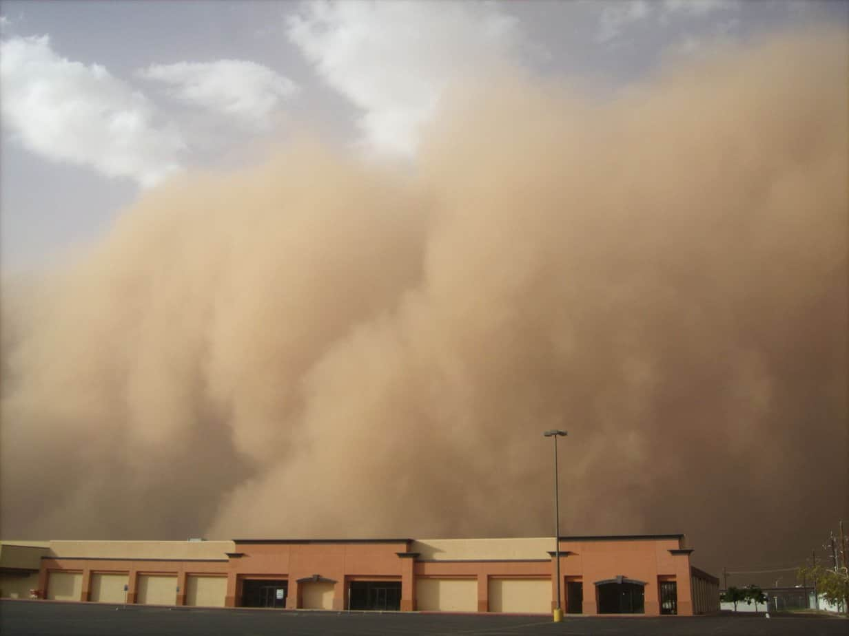 tips for surviving deadly dust storms