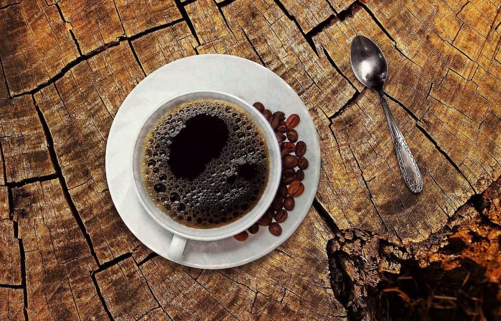 on coffee's origins and convenience