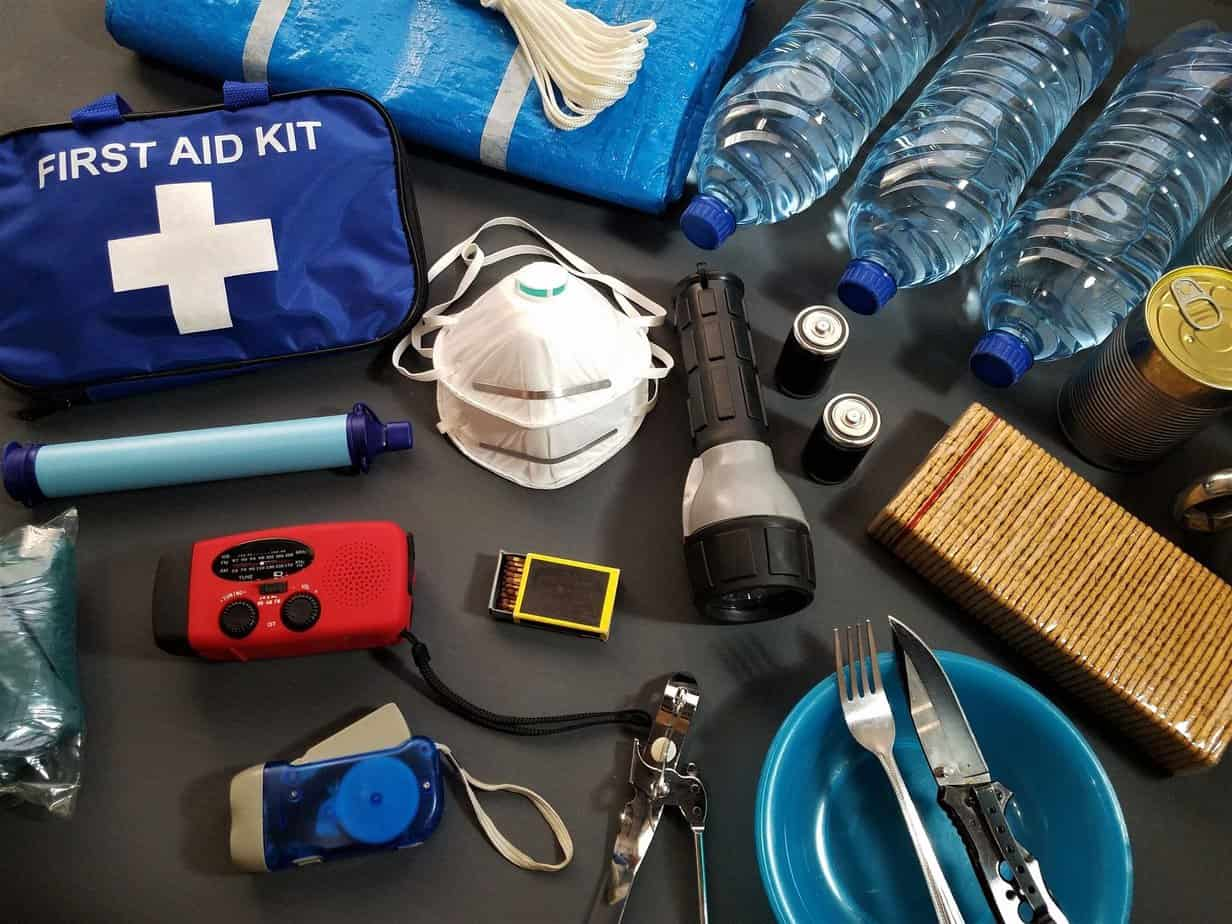 putting together a seventy two hour kit and other tips