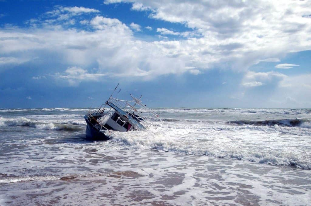 technicalities about capsizing
